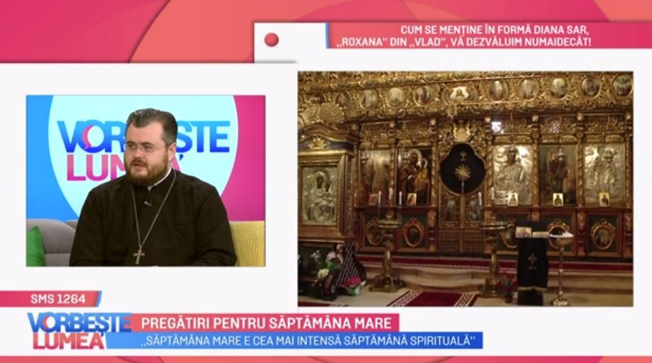 Părintele Mavrichi ne vorbește despre lucrurile pe care trebuie să le facem în Săptămâna Mare