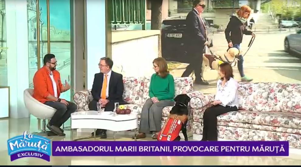 VIDEO Ambasadorul Marii Britanii, provocare pentru Cătălin Măruță