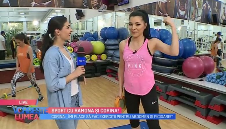 VIDEO Cum se antrenează Corina Caragea și Ramona Păun