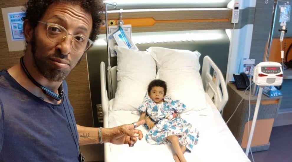 Fiul lui Kamara a făcut primul transplant cu celule stem