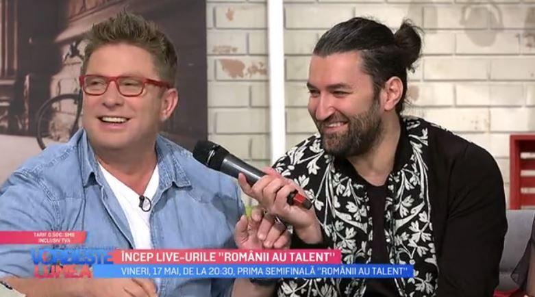"""VIDEO Smiley și Pavel Bartoș, despre prima semifinală """"Romanii au talent"""""""