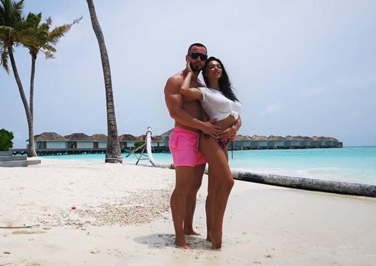 """Sonny Flame și soția lui au avut parte de o vacanță romantică: """"Este definiția paradisului unde am stat!"""""""