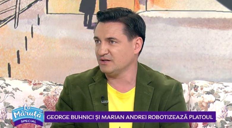VIDEO George Buhnici și Marian Andrei robotizează platoul La Măruță