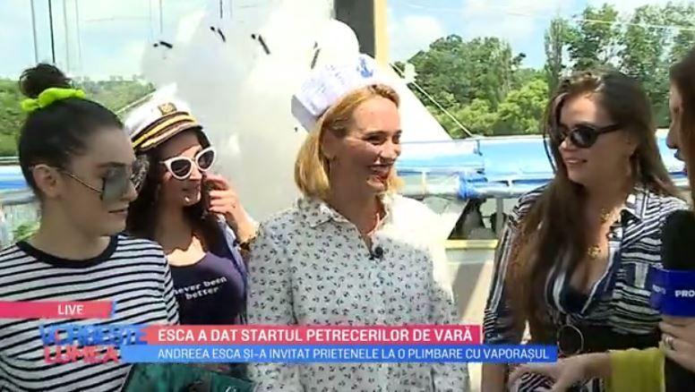 VIDEO Andreea Esca a dat startul petrecerilor de vară