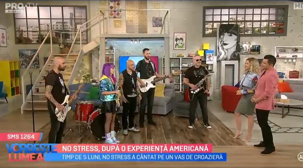 """VIDEO """"No stress"""", după o experiență americană"""