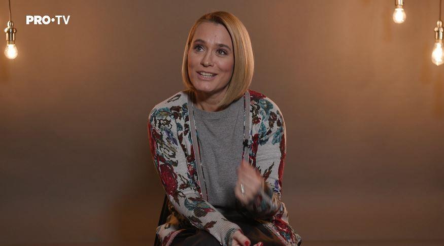"""""""LA PERETE"""" cu Andreea Esca, într-un interviu cum nu ai mai auzit-o de mult"""