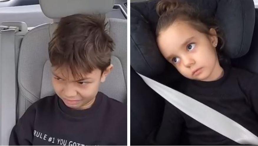 """VIDEO: Eva și David Măruță au reacții incredibil de simpatice când ascultă """"muzica părinților"""""""