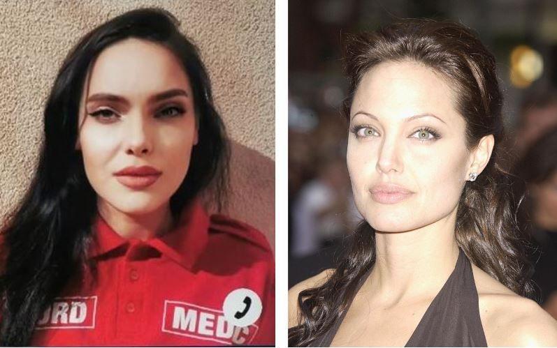 Frumoasa de la SMURD, asociată cu Angelina Jolie, apare și în Atlasul Frumuseții