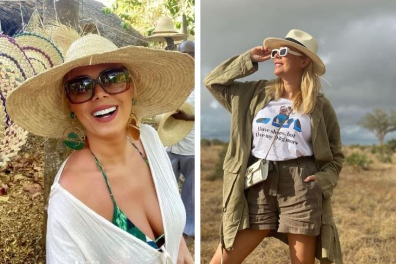 Dana Săvuică, apariție năucitoare pe plajele din Kenya, la 51 de ani