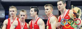 Echipa masculina de gimnastica, pe 7 la Beijing!