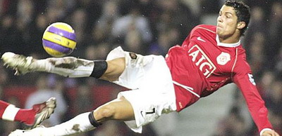 "Cristiano Ronaldo, disperat sa marcheze din foarfeca: ""Vreau sa driblez 11 jucatori!"""