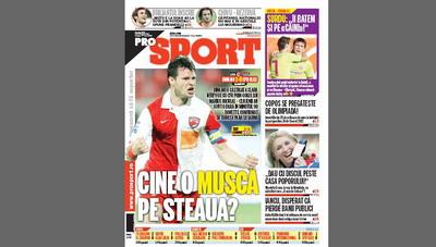 Citeste azi in ProSport / Cine o musca pe Steaua?