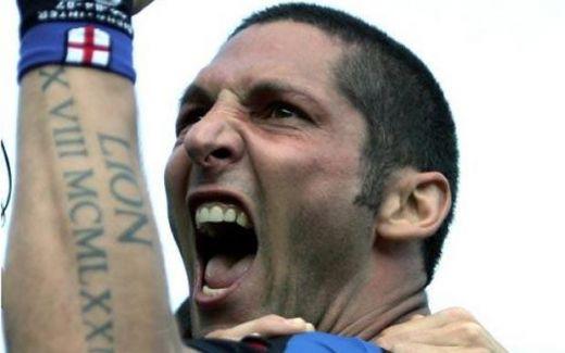 Marco Materazzi S Angel Wings Tattoo. Marco Materazzi 10. Christian Vieri