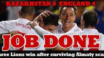 Un fleac, i-au ciuruit! Kazahstan 0-4 Anglia! Vezi super golurile reusite de Anglia!