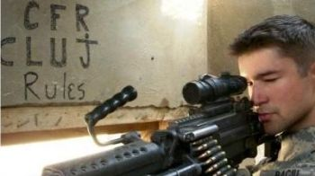 SUPER FOTO! Cel mai tare fan al lui CFR Cluj! Ce mesaj a trimis un soldat din Irak!