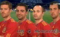 S-a descoperit cum a fost motivata Spania: cei 4 muschetari care au cucerit finala!