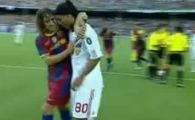 Ronaldinho in LACRIMI pe Nou Camp! A facut POZA oficiala cu Barcelona!
