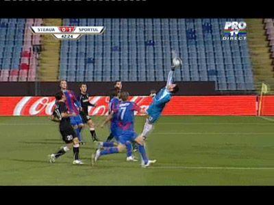 VIDEO / Steaua e in sferturile Cupei Romaniei! Steaua 4-2 Sportul dupa lovituri de la 11 metri!