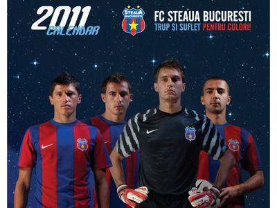 Steaua a lansat calendarul pe 2011! Vezi POZE