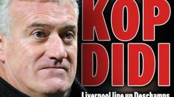 Liverpool vrea pe banca un fost campion mondial! Deschamps va prelua echipa din vara: