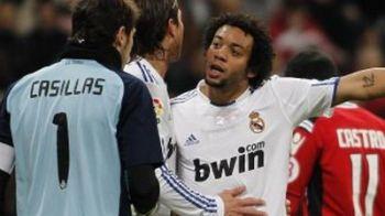 VIDEO / TENSIUNE intre jucatorii Realului! Casillas si Marcelo s-au certat pe teren: