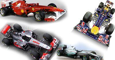 Cinci campioni mondiali la start: vezi TOATE MONOPOSTURILE din F1 pentru 2011