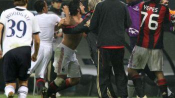 Gattuso voia sa mai bata un adversar la meciul cu Spurs! Afla cum l-a ARUNCAT in vestiar Ibrahimovic!