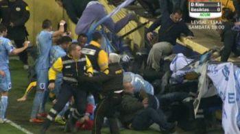 VIDEO: Faza serii in Europa League: Hamsik a daramat tribuna cu suporteri italieni in stil Claudiu Raducanu