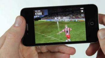VIDEO! Inca o SUPER aplicatie de iPhone RUPE printre fanii de fotbal: bati lovituri libere mai tare ca Juninho