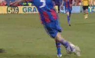 VIDEO! Singurul jucator al Stelei care a copiat MEGA executia lui CR7 si Ronaldinho! Ce RABONA a reusit Brandan!