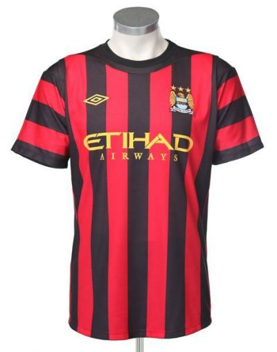 Noile tricouri ale celor de la Manchester City sunt identice cu cele ale lui AC Milan! SUPER FOTO: