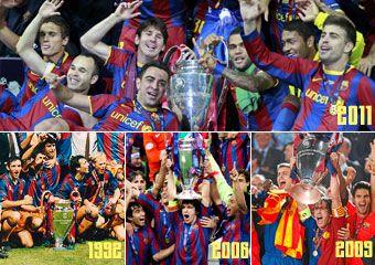 DECENIUL in care s-a scris istoria fotbalului: 4 finale de Liga Campionilor castigate de Barcelona! VIDEO: