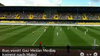 """Nemtii se pregatesc pentru meciul cu Medias din Europa League: """"Bun venit! Gaz Metan vine la Mainz!"""""""