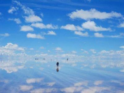 o OGLINDA de 10.000 km patrati! NU e iluzie optica! FOTO INCREDIBIL