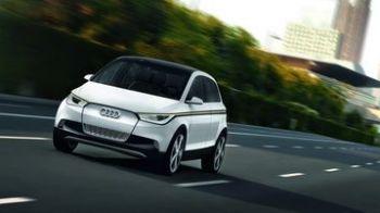 FOTO: Revine ala micu' de la Audi! Motor electric,un plin de curent la 200 de km!