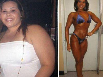 Din oameni obezi au ajuns campioni la culturism! Imagini FENOMENALE cu cele mai spectaculoase 50 de transformari din lume