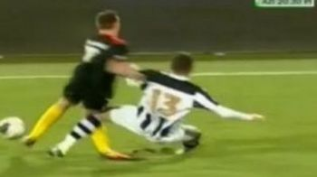 TRAGEDIE la Timisoara! Ultimul gol din cariera pentru Bud?! Cea mai grava accidentare vazuta in Romania! VIDEO