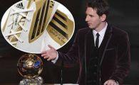 FOTO Messi are cele mai GRELE ghete din lume! Cum joaca cu trei Baloane de Aur pe ele? :)