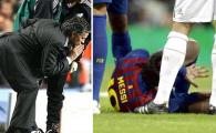 """Mourinho s-a enervat! Mai avea putin si il scotea pe Messi vinovat ca a fost calcat pe mana: """"Ce masuri sa se ia? N-auzi ca Pepe n-a vrut sa-l calce?"""""""