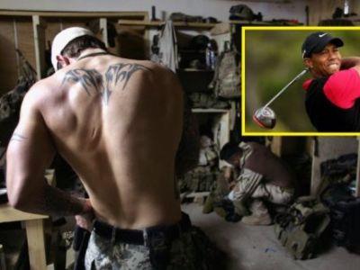 Asta e cea mai tare: Tiger Woods renunta la golf pentru a se inrola in armata! Vezi de unde i-a venit ideea:
