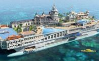 Imagini INCREDIBILE cu yachtul de 1 miliard de euro! E primul vas din lume cu pista de Formula 1 pe el! FOTO