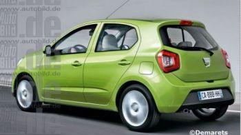 FOTO: Imagini noi cu Dacia de 5.000 de euro! Motoare incredibil de mici, dar puternice!