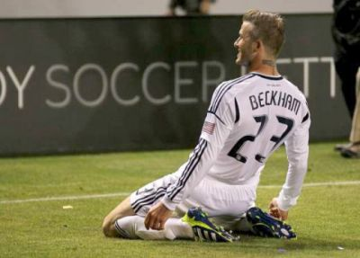 VIDEO BE-STI-AL! Beckham, gol senzational in SUA! Sutul care l-a facut sa planga pe portar!