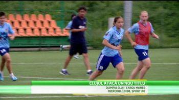VIDEO Messi de Romania e FATA! Clujul, gata de un nou titlu! Ce jucatoare da peste 100 de goluri pe sezon!