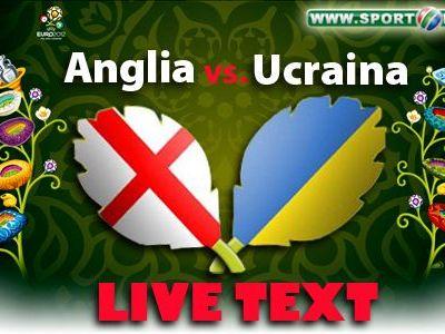 Anglia - Italia, EUROSFERTUL din Polonia si Ucraina! Rooney revine cu gol! Anglia 1-0 Ucraina, gol REFUZAT pentru ucraineni de arbitru!