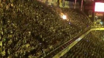 VIDEO Ti se face pielea de gaina: ai un minut sa stai in galerie in infernul de pe Sukru Saracoglu! Ce atmosfera incredibila o asteapta pe Vaslui in Turcia: