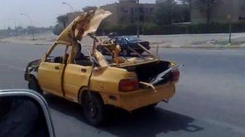 VIDEO: Audi, BMW si Mercedes au intrat in panica! Irakienii au lansat odecapotabila explodata!