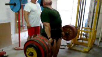 Omul antrenat de cea mai puternica familie din Romania a stabilit un nou record: Vezi cat a ridicat FARA PROBLEME! SUPER VIDEO