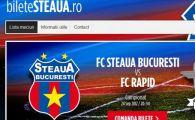 PREMIERA! Steaua livreaza GRATIS biletele cumparate online! Vezi aicipreturile de la meciurile din Europa League si de la derby-ul cu Rapid: