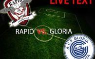 A revenit Herea! Dubla din penalty inaintea derby-ului cu Steaua! Rapid 3-1 Gloria Bistrita! Sabau RESPIRA!